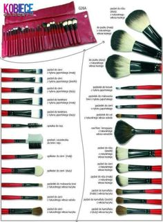 What are makeup brushes