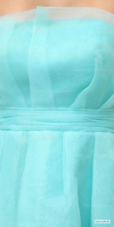 wedding checklist Strapless Multilayer Skirt Full A-Line Organza Bridesmaid Dress $108.98