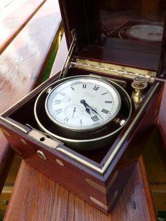 Naval Chronometer Waltham 1918, 15 jewels