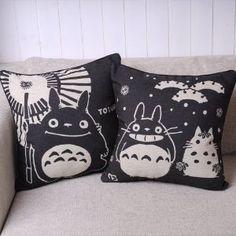 snowtoro pillow
