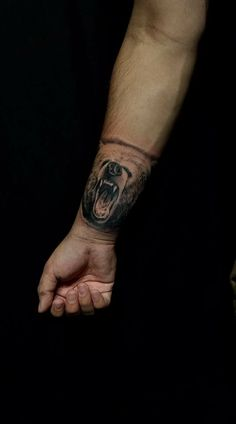 My grizzly tattoo. Grizzly Bear Tattoo