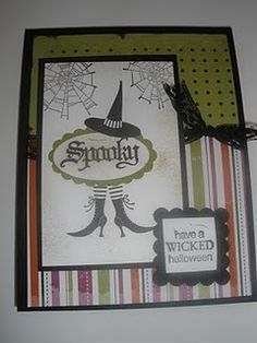 Cards, Stampin' Up!, Halloween Cards