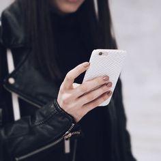 #glacialDesert white leather print BURGA case for iphone 7 iphone 7plus iphone 8 iphone 8 plus and iphone x