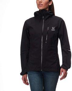 2c00187a Haglöfs L.I.M III Jacket - Women's Best Rain Jacket, Gore Tex, Hooded Jacket ,