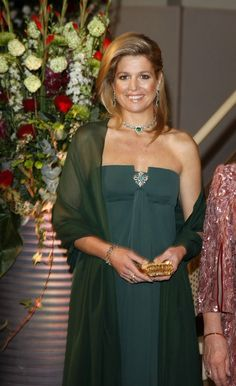 April 13, 2011... Princess Maxima's style as she prepares to become Queen of the Netherlands.