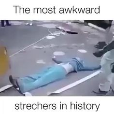 The most awkward strechers in history - So Funny Epic Fails Pictures