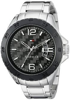 Tommy Hilfiger Men's 1791206 Casual Stainless Steel Bracelet Watch ** More info could be found at the image url. (This is an Amazon Affiliate link)