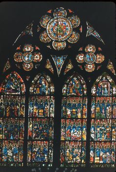 10.) Strasbourg Cathedral Stained-Glass Windows – The Life of Christ 1260-70 and 1330-35 (The Medieval Stained Glass Photographic Archive)