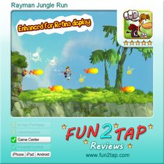 Rayman Jungle Run - We love it, we play it, why don't you?. Full review at: http://fun2tap.com/index.cfm#id216 --------------------------------------  #Apps  #Games #iPad #iPhone #Casualgames