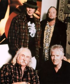 CSNY ~ circa 2003 ~ The Dome  Wonderful concert & so glad Neil Young joined them!