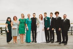 Retro Wedding on Southend Pier: Eve & Dave