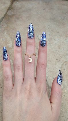 Love this ring and the nails are awesome too!