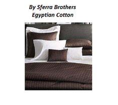 NEW! Sferra LUXURY WHITE Pillowcases Set KING Egypt Cotton 500 TC  ITALY 2