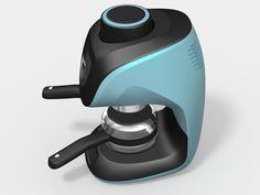 Espresso Machine Szarvasi on Behance