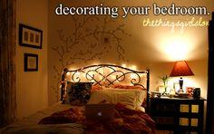 Decorating your bedroom.  thethingsgirlslove.tumblr.com