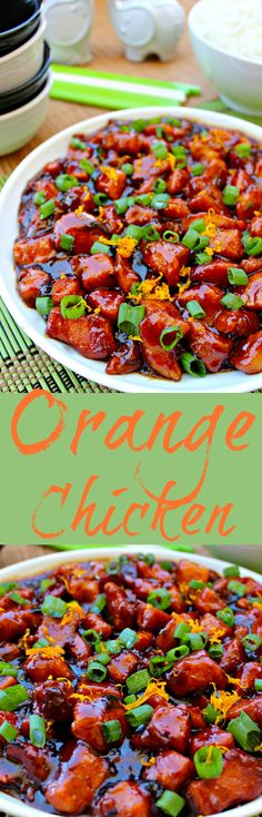 Asian style chicken in a tangy orange sauce. ~ Orange Chicken ~ The Complete Savorist