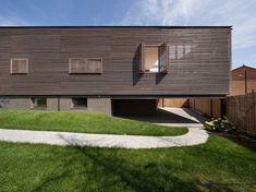 #wood. #shutters. #cladding. #horizontal. House in Kharkiv,Courtesy of Drozdov & Partners