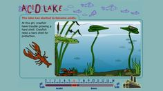 This interactive activity adapted from EcoKids introduces acid rain—how it affects aquatic ecosystems, the difference between acid rain and normal rain, and how certain species as well as entire ecosystems, react to emissions from industrial and other man-made sources that contribute to acid rain. The activity also explains the pH scale, which is used to measure acidity.