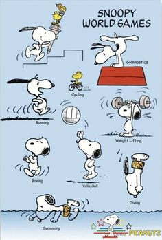 Snoopy World Games