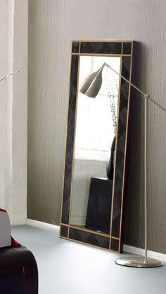 WOODMİRROR - BLACK MAMBA VI Wood Mirror, Black Mamba, Oversized Mirror, Furniture, Home Decor, Decoration Home, Room Decor, Home Furnishings, Home Interior Design