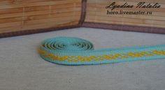 Купить Покромка девичья - handmade, ручная работа, Ткачество, ткачество тюмень, ткачество пояс