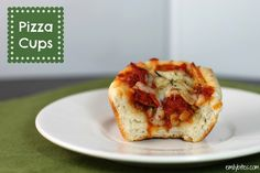Emily Bites - Weight Watchers Friendly Recipes: Pizza Cups