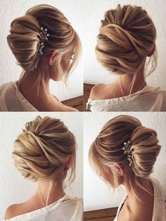 Tres Chic | The updated French twist wedding updo for modern romantics