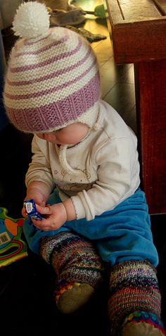 northern purly girl: Garter Ribbing My Baby Hat! Knitting Patterns Boys, Baby Boy Knitting, Baby Hat Patterns, Kids Patterns, Baby Knits, Free Knitting, Headband Pattern, Knitted Headband, Knitted Hats