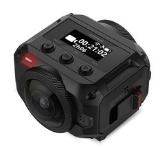 VIRB 360 is the first of its kind, capturing a complete sphere of high-resolution video and audio — even photos.