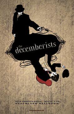 The Decemberist Poster Art