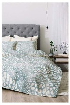 Deny Designs Blue Dash and Ash Cove Comforter Set - Deny Designs #affiliatepin