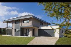 Myotte Duquet architecture bois, Maison 4 pans à Gilley