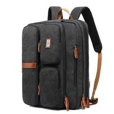 Men Multifunctional Laptop Backpack Waterproof Large Capacity Business Crossbody Bag is high-quality. Shop on NewChic and buy the best mens backpack for yourself. Cool Backpacks For Men, Men's Backpacks, Waterproof Laptop Backpack, Laptop Rucksack, Laptop Bags, Sierra Leone, Seychelles, Ghana, Sri Lanka