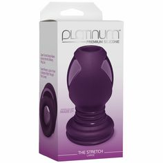 Description    Platinum The Stretch Large Purple Hollow Butt Plug. Explore your partner's backdoor with this innovative open tunnel plug! Firm yet flexible, the Stretch offers multiple pleasures: it delivers the satisfying filling sensation of a regular plug, but also features a hollow bodied design allowing access that no other plug can. Users can insert fingers, lube, or even a vibrator right through the tunnel! The Stretch is ergonomically designed for easy insertion and has a dual…