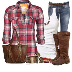 Nice plaid outfits,would you change any part ?