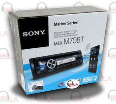 Sourcing-LA: SONY MEX‑M70BT IN-DASH CD MP3 USB BLUETOOTH MARINE...