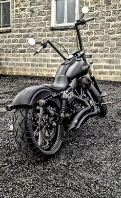 Harley-Davidson Street Bob Customized I love this!                                                                                                                                                                                 More #harleyddavidsonstreet