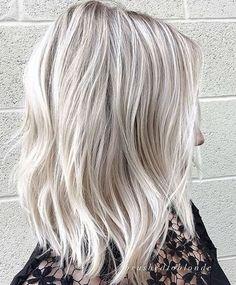 white blonde or ice blonde