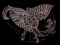 batiktambal.com Vintage Tjap- Bird