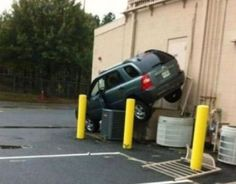 People Parking at Walmart - Funny Pictures at Walmart