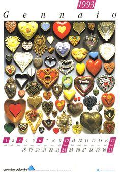 Ceramica Dolomite - Calendari