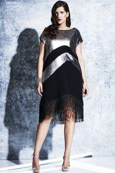 Pre Order Elvi   Prima Sequin Tassel Dress
