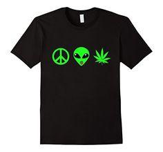 Men's Alien Face T-shirt Peace Alien Weed Funny Graphic T... http://www.amazon.com/dp/B01F0WC910/ref=cm_sw_r_pi_dp_jsrmxb018PMSY