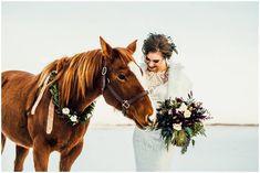 Rustic Bridal Shoot Inspiration via Rocky Mountain Bride