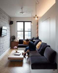 LifeEdited NYC Smart Micro Apartment_2 | IDesignArch | Interior Design,  Architecture. Micro ApartmentStudio ApartmentSmall Livingroom IdeasLiving  ...
