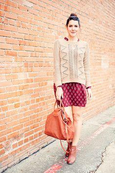 sweater meet dress