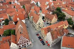 Nordlingen Germany.  Germany was not somewhere I thought I'd love. But. I did.