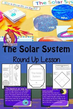 The Solar System Knowledge Round Up Complete Science Lesson Earth Science Projects, Earth Science Activities, Earth Science Lessons, Primary Science, Science Notes, Space Activities, Science Resources, Teaching Science, Teacher Resources