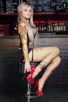#tats #tattoos #ink #inked #sexy #girls #women