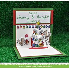 Lawn Fawn SET SULF16SETCC CHEERY CHRISTMAS Clear Stamps and Dies Preview Image